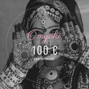 Geschenkkarte Designerschmuck 100 €