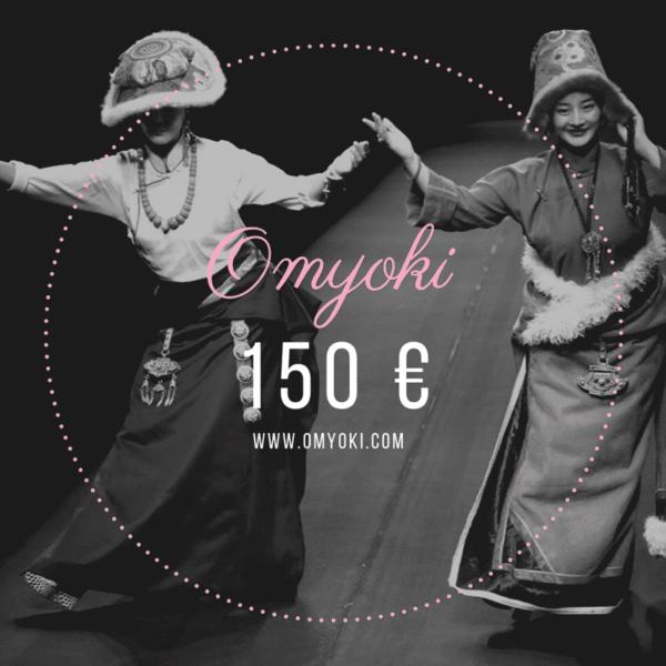 Carte cadeau bijoux de créateur 150 €