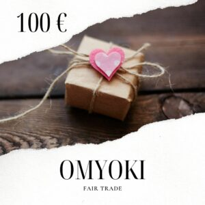 Carte cadeau bijoux éthiques 100 €