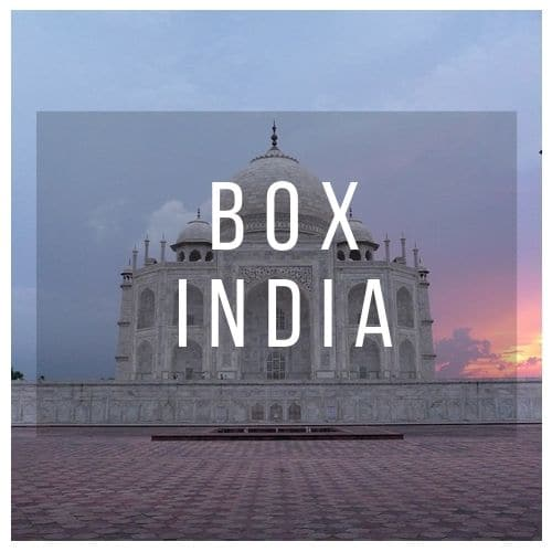 Box bijoux indiens INDIA