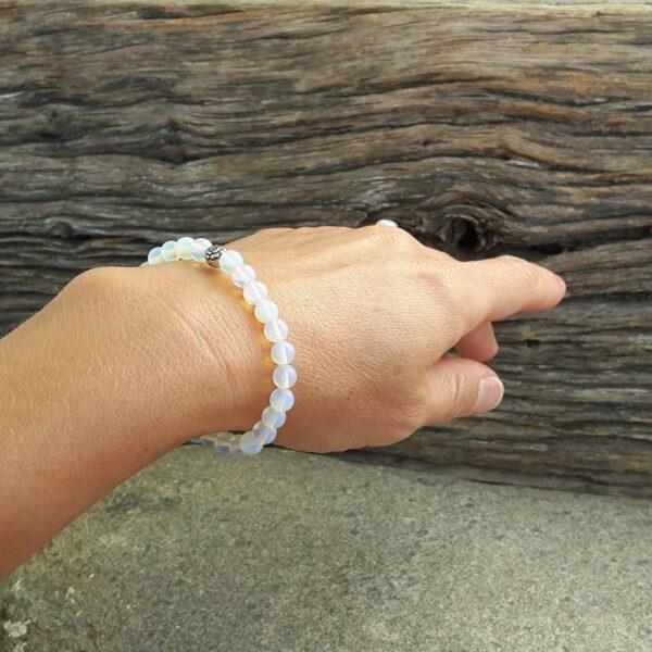 Mala moonstone bracelet