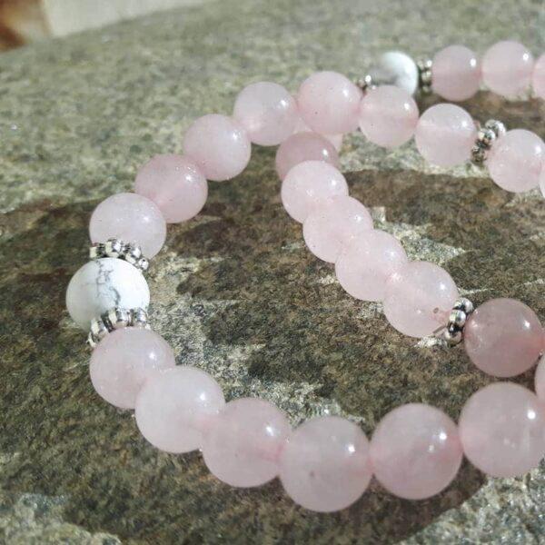 """Bracelet quartz rose """"douceur"""""""