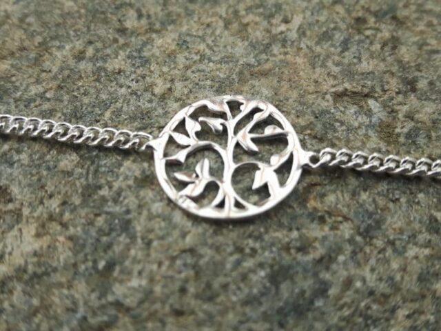 Bracelet Arbre de vie en argent 925