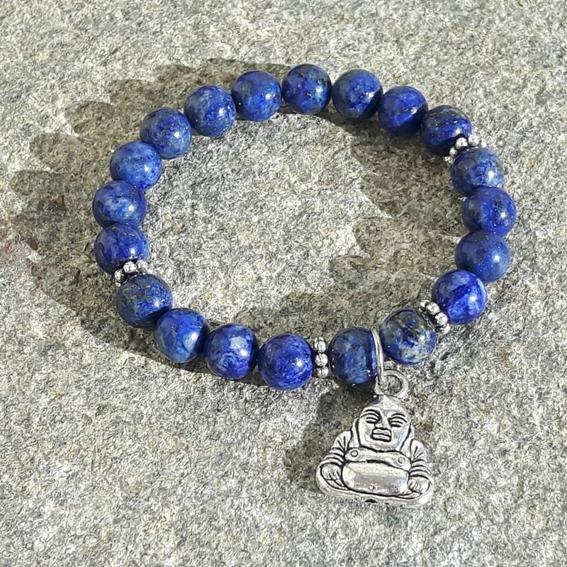 Mala Lapis Lazuli Bracelet