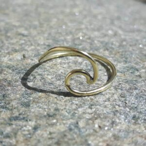 Bague vague or