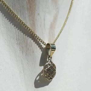 Necklace seed of golden life