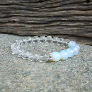 Purity moonstone bracelet