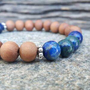 Bracelet lapis lazuli Harmonie