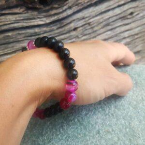 Bracelet onyx Free Spirit