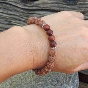 Rudraksha Armband