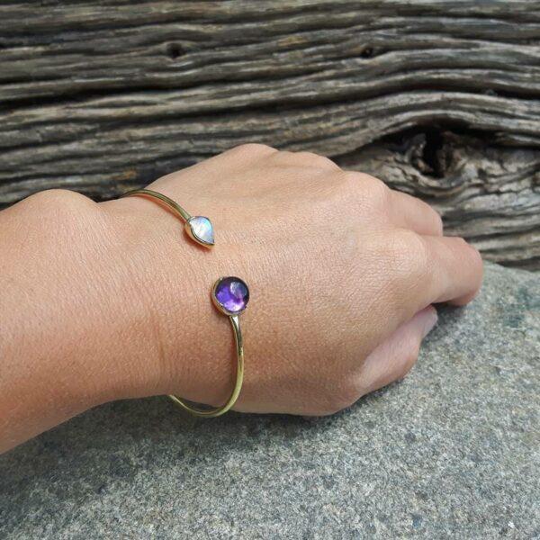 Bracelet jonc SURYA