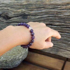 Amethyst bracelet SOUL