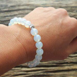 Mond Perlen Armband