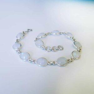 Natürliches Mondstein-Armband