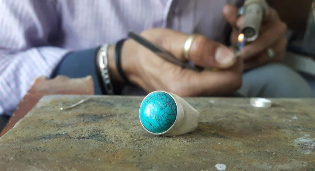 Ethical fashion, craft ring creation