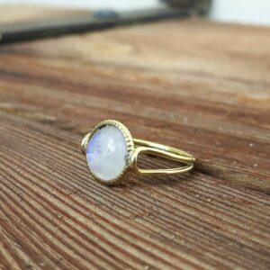 Fine goldtone ring MARIE-ANTOINETTE