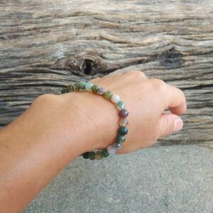 Bracelet en jaspe ÉQUILIBRE