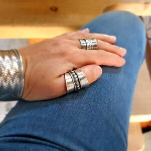 MAÏ silver adjustable ring