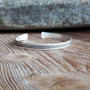 KAREN etnische zilveren armband
