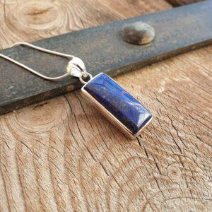 Pendentif lapis lazuli argent HARMONIE