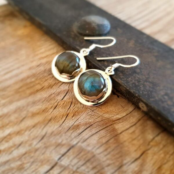 Labradorite Protection earrings