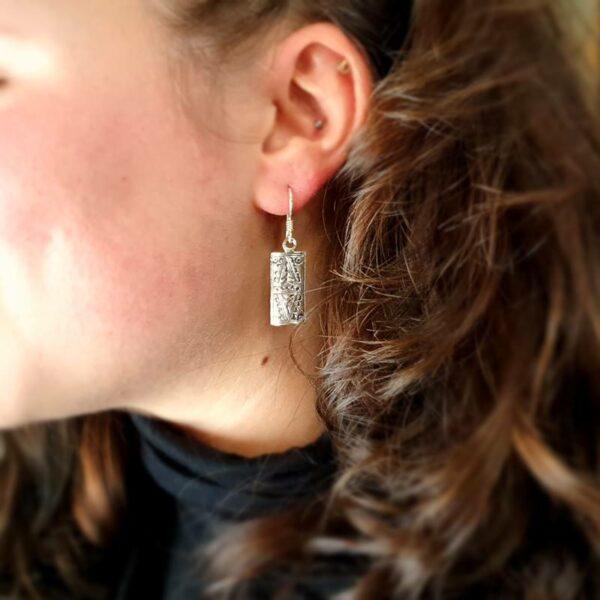 Boucles d'oreilles ethniques