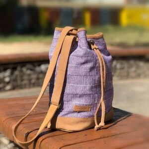 Fairy bucket bag MAYA mauve