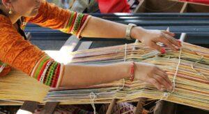 Tissus écoresponsables et traditionnels népalais