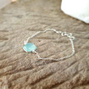 MILO chalcedony chain bracelet