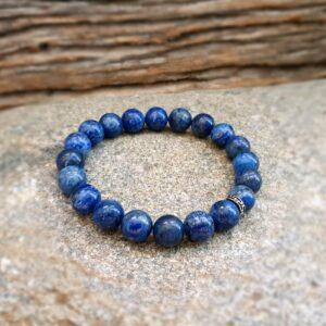 Bracelet homme en lapis DEEP BLUE