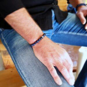 ABYSSE Lapislazuli Mann Armband