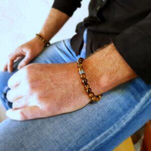 SURAKSA Tigerauge Armband