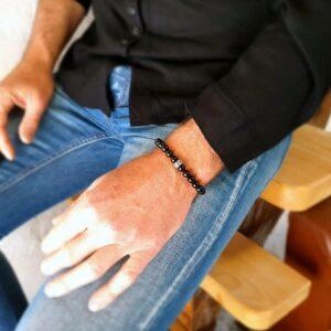 SAKTI onyx man bracelet
