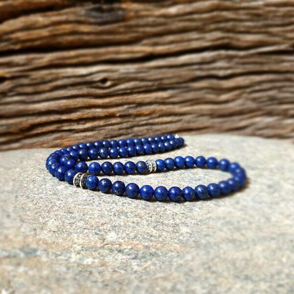 Collier homme lapis lazuli DEEP BLUE