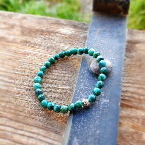 WELLNESS grünes Jaspis Armband