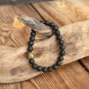 Bracelet en pierre de lave JVALA