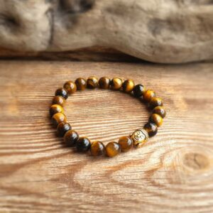 BOUDDHA Tiger Eye Armband