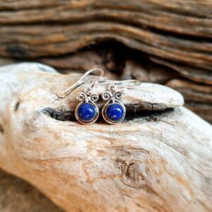 Piccoli orecchini di lapislazzuli
